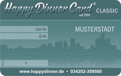 Happy Dinner Card CLASSIC