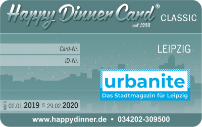 Happy Dinner Card CLASSIC Leipzig 2019/2020